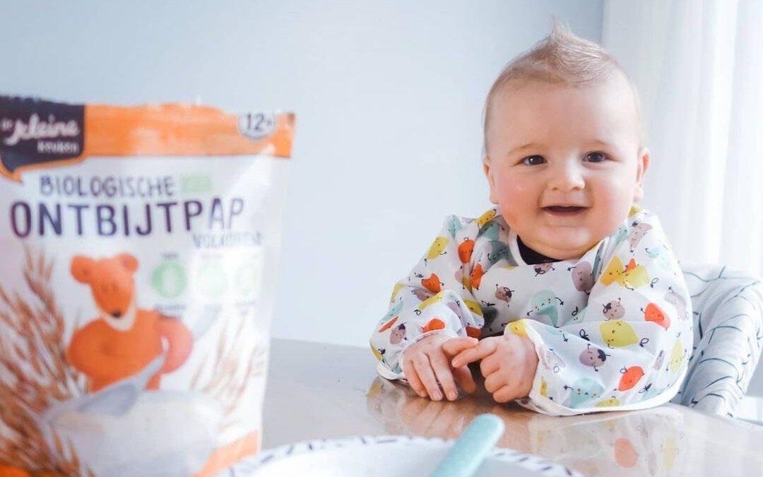 Biologische ontbijtpap voor kinderen