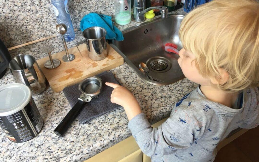 Hoe mijn kind mij leerde koken