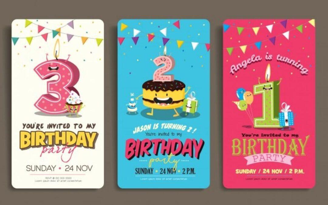 Vanaf welke leeftijd geef je een kinderfeestje?