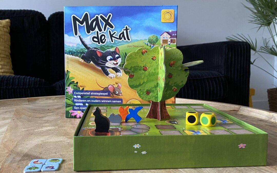 Max de kat: een spannend coöperatief spel voor het gezin