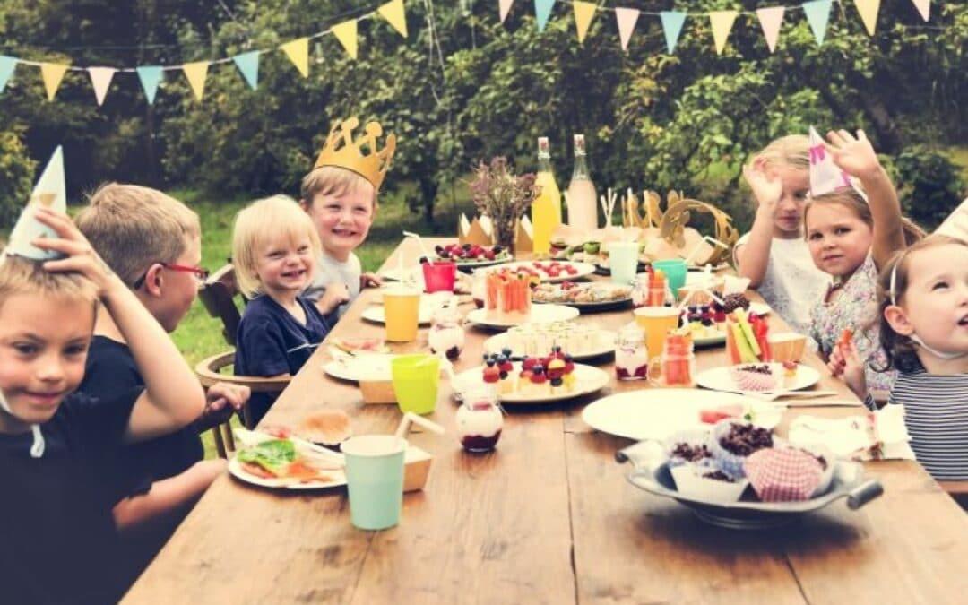 Eerste kinderfeestje organiseren